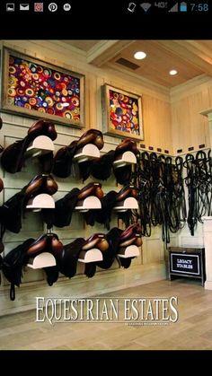Amazing tack room