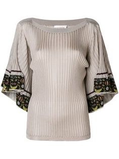 a30400c1c25 flared sleeved fitted blouse Reviews