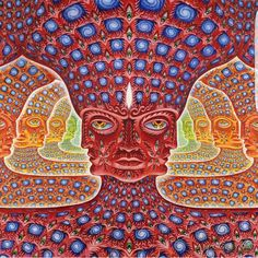Alex Grey, visionary artist and co-founder of the highly anticipated Hudson Valley retreat centre, Entheon, gives insight into the central role of travel and spirituality in his work. Alex Grey, Alex Gray Art, Trippy Eye, Sacred Geometry Tattoo, Psy Art, Street Art, Flower Mandala, Visionary Art, Psychedelic Art
