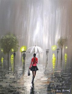 All work is 100% hand painted by Pete Rumney. Sales of his original hand painted pieces have gone from strength to strength since the arrival of his art online in 2001. Pete's paintings recently inspired by L.S. LOWRY are gathering more and more interest.   eBay!