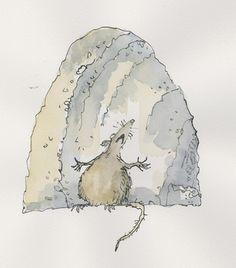 Quentin Blake - Rat | Artist - Quentin Blake | Pinterest | Quentin ...