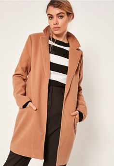 Cover up in style and work the tailored trend to the max in this beaut camel f0d0f16f3ef