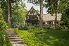 Perched on a quiet peninsula, this private 1.26 acre Tudor estate offers 645± feet of frontage and panoramic views overlooking Lake George and the Adirondacks. Built in 1926, the 6,291± square foot home was lovingly restored and updated by the current owners with just the right...
