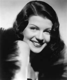 Rita Hayworth (1918-1987) was a well known 1940s era movie actress and dancer and considered one of the 100 most greatest stars of all time. Description from msjeannieology.com. I searched for this on bing.com/images