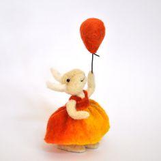 Needle Felted Bunny by Teresa Perleberg