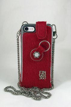 cb616d34f25 Potrillos, Fundas, Productos, Rojo, Piel, Iphone 8 Plus, Apple Iphone