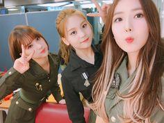 Eunha, Umji, and SinB