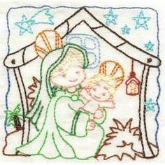 Nativity Color Work...