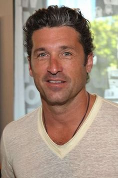 Celebrities with gray hair: Patrick Dempsey