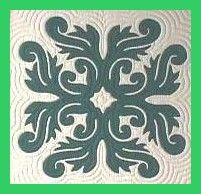 Love this pattern for a quilt square  or pillow (Hawaiian pattern)