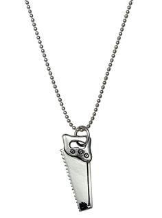 """Saw"" Necklace by Femme Metale #InkedShop. #Jewelry #Style"