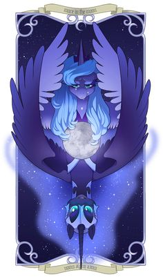 ThePonyArtCollection: Mare in the Moon