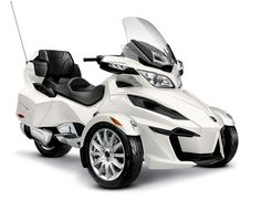 Can-Am motorcycles and trikes — 2014 Can-Am Spyder RT