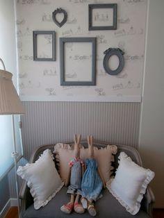 Una pared para dormitorio muy especial