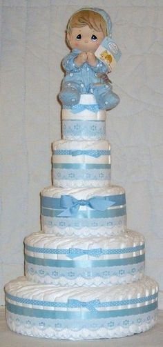 Tall boy Diaper Cake