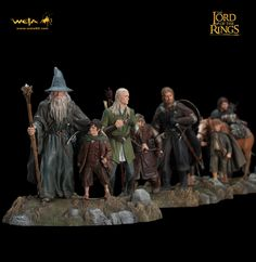 weta lord of the rings | Weta – The Lord of the Rings – The Fellowship of the Ring Diorama ...