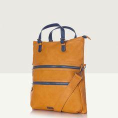 Barnton Large Slouch Bag - Golden Yellow