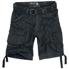 Kesän komeimmat shortsit tarjoaa EMP. Housuissa todella paljon näyttäviä yksityiskohtia. Näitä et saa mistään muualta kuin EMP:ltä!