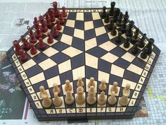Sports and Recreation: Chess for Three
