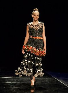 Fashion designers using recycled materials