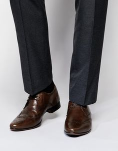 ASOS+Brogue+Shoes+in+Leather