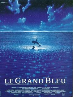 Le Grand Bleu - Suffice it to say, love grew from this fim score. Jean Reno, Beau Film, Films Cinema, Cinema Posters, Movie Posters, Film Le, Film Movie, Top Film, The Best Films