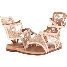 Lisa for Donald Pliner - Gissa (Nude/Nude Nappa Lace) - Footwear -  Lisa for Donald Pliner  Gissa (Nude/Nude Nappa Lace)  Footwear 6pm.com is proud to offer the Lisa for Donald Pliner  Gissa (Nude/Nude Nappa Lace)  Footwear: Step our in fashion-forward style with the Gissa gladiator thong sandal. ; From the Lisa for Donald J Pliner...