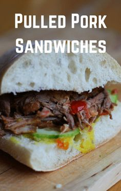 For Mario Batali, the perfect sandwich has a bit of moisture added to it. As an example, he shared a recipe for Pulled Pork Sandwiches with Gremolata Mayo.