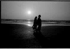 Blast from the past!  #sunset #Goa #India #viaggio #blackandwhitephotography #analogphotography #Leica