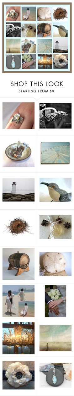 Gifts from Nature by funnfiber on Polyvore #photography #nature #natural #objects #jewelry #handmade #vintage #wallart #wall #art #home #decor #ring #dish #cone #ceramic #birds #nest #stone #lighhouse #sunflower
