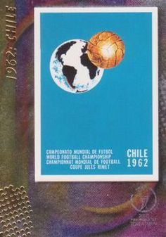 2002 Panini World Cup #10 Official Poster 1962 Chile Front