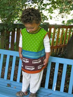 Back to School Art Smock Tutorial || Shelly Figueroa for Sew,Mama,Sew!