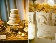 Gold Santa Barbara Wedding from Sterling Social Events - Inspired By This