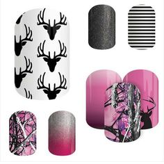 """I'm sure there are """"hunter"""" girls out there... here are some FUN Jamberry wraps to wear!! http://jamsbydeanna.jamberry.com"""