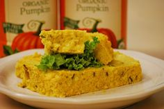 This looks like an interesting twist on corn bread! Savory Pumpkin Spoon Bread recipe, courtesy of Farmer's Market, makers of organic nut-free canned pumpkin, sweet potatoes and squash.