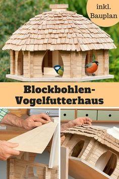 Wunderbar Dieses Blockbohlen Futterhaus Ist Eine Handwerkliche Meisterleistung, über  Die Sich Nicht Nur Die Vögel
