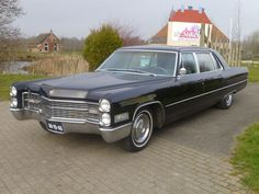 Cadillac - Fleetwood Limousine - 1966