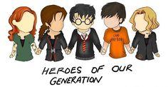 Clary, Katniss, Harry, Percy, Tris