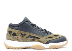 best service 570e3 5df55 2018 Buy New Arrival AIR JORDAN 11 RETRO LOW CROC blk mlt grn-gm  yllw-infrrd 23 306008 013 Hot Sale