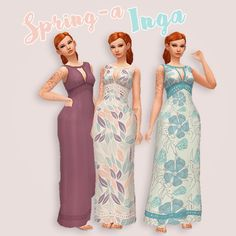 Sims 4 CC's - The Best: Dress by Hamburgercakes