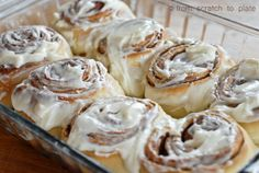 Gooey Homemade Cinnamon Rolls. How to make perfect cinnamon rolls. I'm always in search of the perfect recipe, maybe this is it.