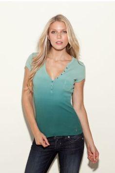 Need it in blue.  Love my Henley tops!