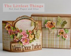 Not Just Paper and Glue: The Littlest Things Bendi Card made with the Silhouette