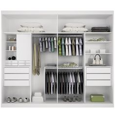 Discovering an answer in your storage objects can be pretty easy, due to the superb design of an in-built wardrobe. The in-built wardrobe is just [. Bedroom Wardrobe, Wardrobe Closet, Built In Wardrobe, Master Closet, Closet Bedroom, Closet Space, Walk In Closet, Wardrobe Organisation, Closet Organization