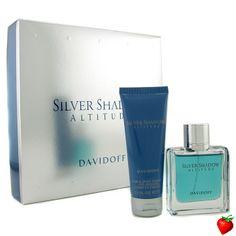 Davidoff Silver Shadow Attitude Coffret: Eau De Toilette Spray 50ml/1.7oz + Hair & Body Shampoo 75ml/2.5oz 2pcs #Davidoff #Perfume #MensSets #MensGift #StrawberryNET