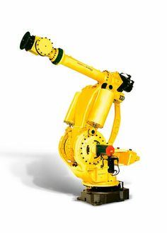 Heavy duty 6-axis #articulated #robot #FANUC Europe Corporation on #DirectIndustry