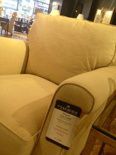 Safavieh. Rounded arm chair. So comfy