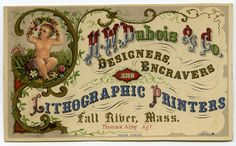Trade Cards at the American Antiquarian Society - Buscar con Google