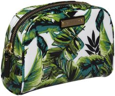 Milly Cosmetic Case - Banana Leaf Print - Free Shipping