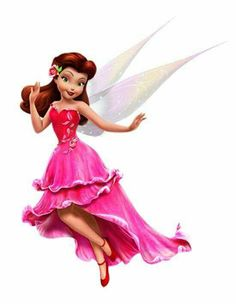 Rosetta in her new and beautiful rose petal flower dress Disney Pixar, Disney And Dreamworks, Disney Animation, Disney Magic, Disney Art, Walt Disney, Tinkerbell Movies, Tinkerbell And Friends, Tinkerbell Disney